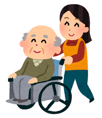 車椅子介助